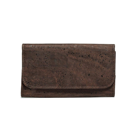 Cork by Design Medium Wallet in Brown-Womens Wallet-Cork by Design-Unicorn Goods