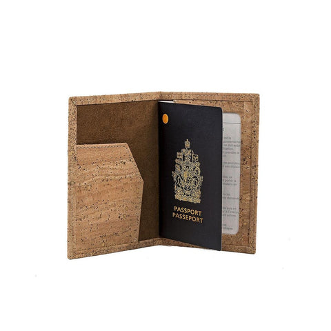 Cork by Design Passport Cover-Mens Wallet-Cork by Design-Unicorn Goods