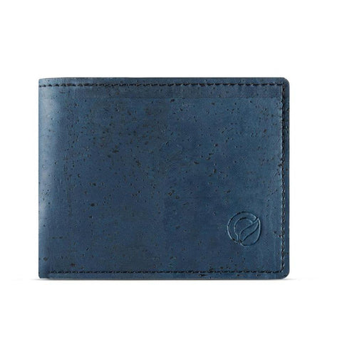 Corkor Coin Pocket Wallet in Blue-Mens Wallet-Corkor-Unicorn Goods