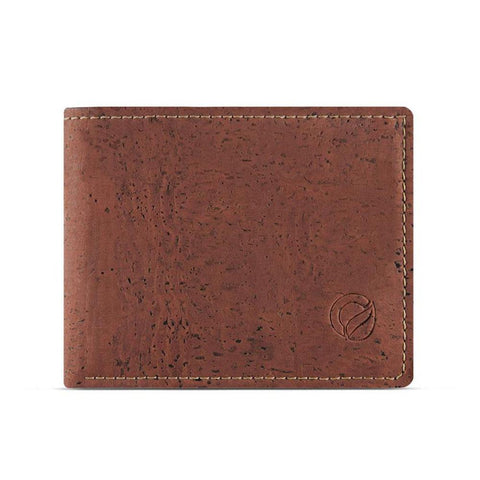 Corkor Coin Pocket Wallet in Red-Mens Wallet-Corkor-Unicorn Goods
