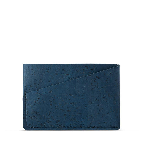 Corkor Front Pocket Wallet in Blue-Mens Wallet-Corkor-Unicorn Goods