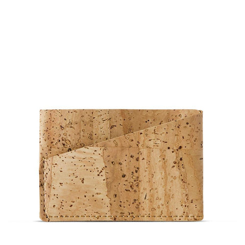 Corkor Front Pocket Wallet in Natural-Mens Wallet-Corkor-Unicorn Goods