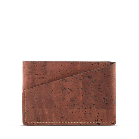 Corkor Front Pocket Wallet in Red-Mens Wallet-Corkor-Unicorn Goods