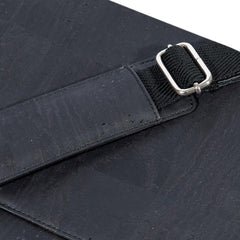 Corkor Messenger Bag in Black-Unisex Messenger Bag-Corkor-Unicorn Goods