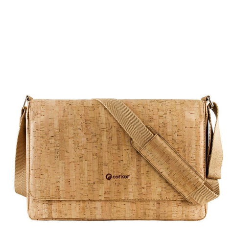 Corkor Messenger Bag in Rustic-Unisex Messenger Bag-Corkor-Unicorn Goods