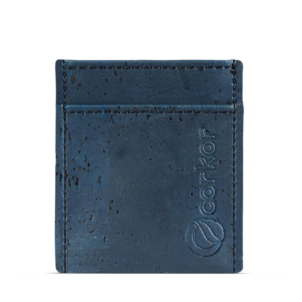 Corkor Minimalist Wallet in Blue-Mens Wallet-Corkor-Unicorn Goods