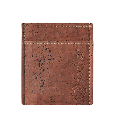 Corkor Minimalist Wallet in Red-Mens Wallet-Corkor-Unicorn Goods
