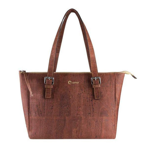 Corkor Satchel Bag in Red-Womens Tote-Corkor-Unicorn Goods