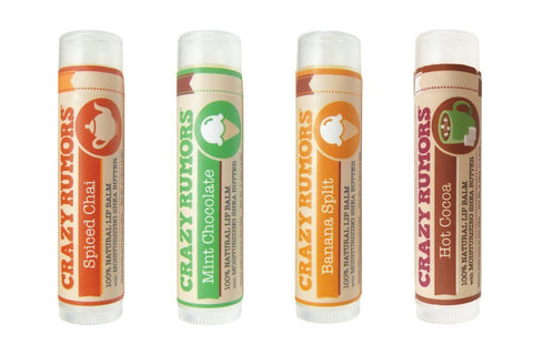 Crazy Rumors Lip Balm Dessert 4 Pack-unisex lip balm-Crazy Rumors-Unicorn Goods