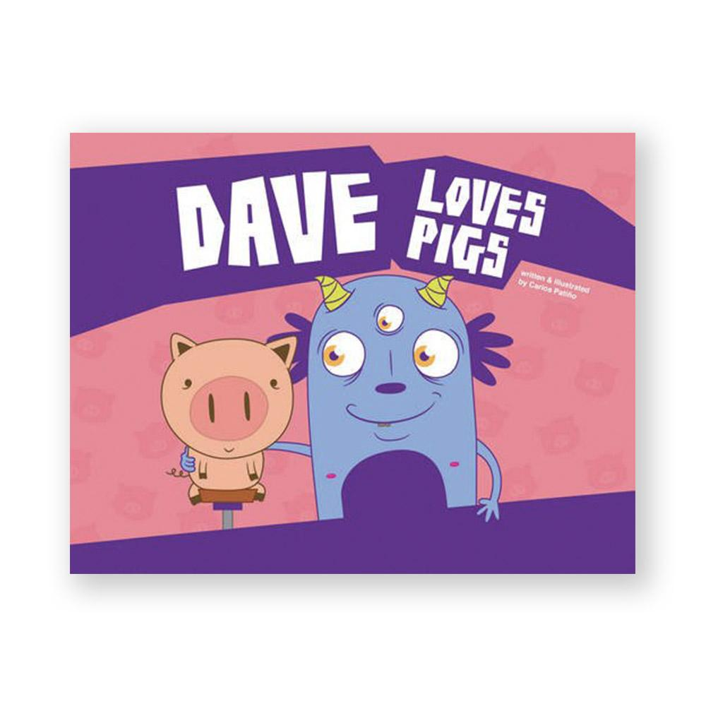 Dave Loves Pigs-Kids - Book-Amazon-Unicorn Goods