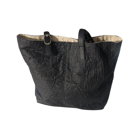 Diosa Piñatex Tote in Black-Womens Tote-Diosa-Unicorn Goods