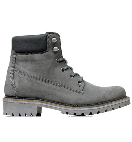 Dock Boots in Grey-Unisex Boots-Amanda Jay-Unicorn Goods