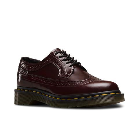 Dr. Martens Vegan 3989 Women's Wingtip Brogues-Womens Oxfords-Doc Martens-Unicorn Goods