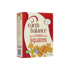 Earth Balance Vegan Cheddar Flavor Squares-Food - Snack-Food-Unicorn Goods