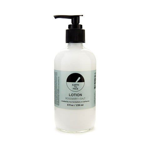 Earth Tu Face Organic Rosemary and Salt Lotion-Unisex Lotion-Earth Tu Face-Unicorn Goods