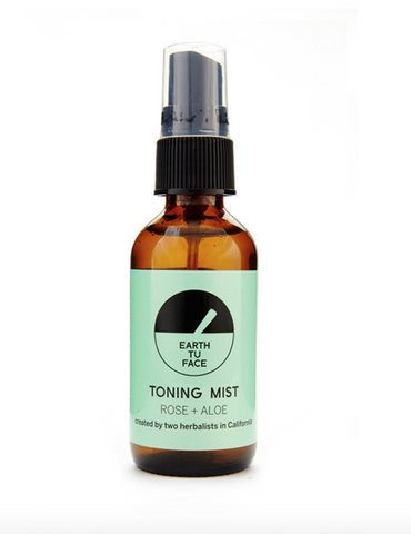 Earth Tu Face Rose + Aloe Organic Toning Mist-Unisex Skincare-Earth Tu Face-Unicorn Goods