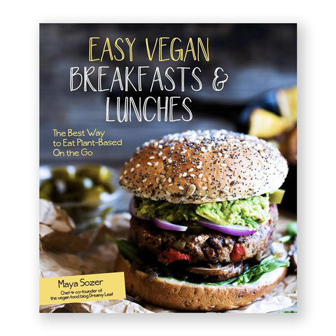 Easy Vegan Breakfasts & Lunches-Cookbook-Amazon-Unicorn Goods