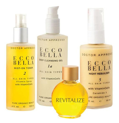 Ecco Bella Revitalize Skincare Kit-Unisex Skincare-Ecco Bella-Unicorn Goods