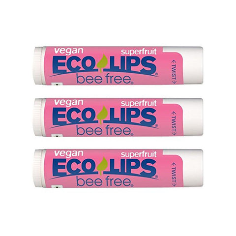 Eco Lips Lip Balm in Superfruit (3 pack)-Unisex Lip Balm-Amazon-Unicorn Goods
