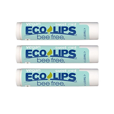 Eco Lips Lip Balm in Sweet Mint (3 pack)-Unisex Lip Balm-Amazon-Unicorn Goods