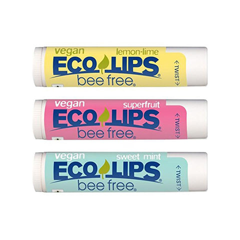 Eco Lips Lip Balm Variety Pack (3 pack)-Unisex Lip Balm-Amazon-Unicorn Goods