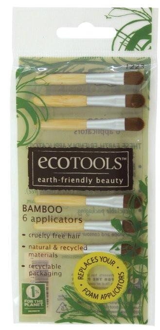 EcoTools Bamboo 6 Mini Brushes-Makeup - Brushes-EcoTools-Unicorn Goods