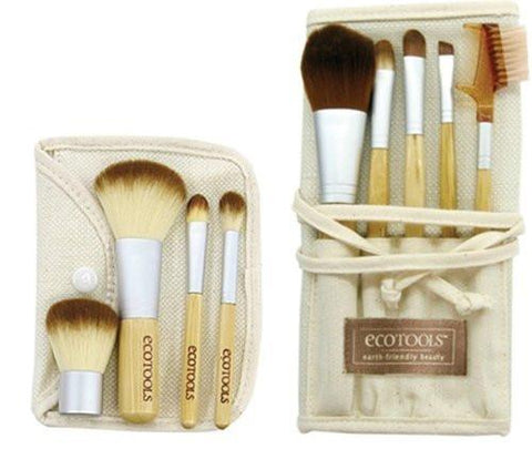 EcoTools Bamboo Starter Makeup Brush Set-Makeup - Brushes-EcoTools-Unicorn Goods