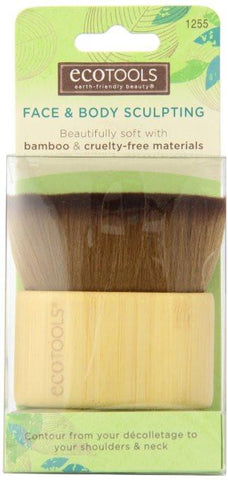 EcoTools Face and Body Sculpting Brush-Makeup - Brushes-EcoTools-Unicorn Goods