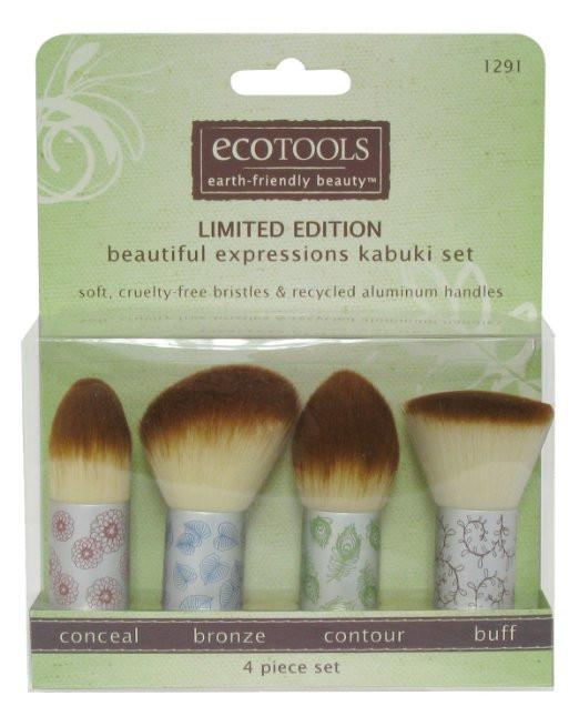 EcoTools Makeup Kabuki Brush Set-Makeup - Brushes-EcoTools-Unicorn Goods