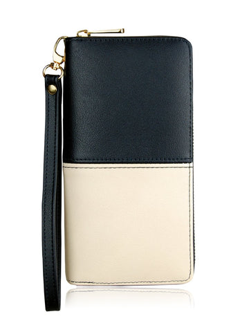 ESPE Kellie XL Long Wallet in Black-Womens Wallet-ESPE-Unicorn Goods