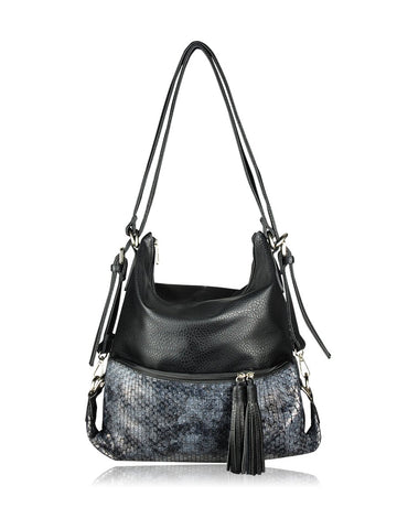 ESPE Purpose Purse in Black-Womens Purse-ESPE-Unicorn Goods