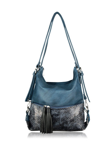 ESPE Purpose Purse in Blue-Womens Purse-ESPE-Unicorn Goods