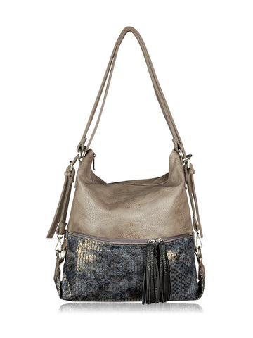 ESPE Purpose Purse in Grey-Womens Purse-ESPE-Unicorn Goods