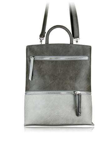ESPE Stigma Backpack in Grey-Womens Backpack-ESPE-Unicorn Goods