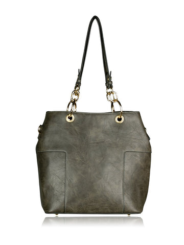 ESPE Whitney 2-in-1 Purse in Grey-Womens Purse-ESPE-Unicorn Goods
