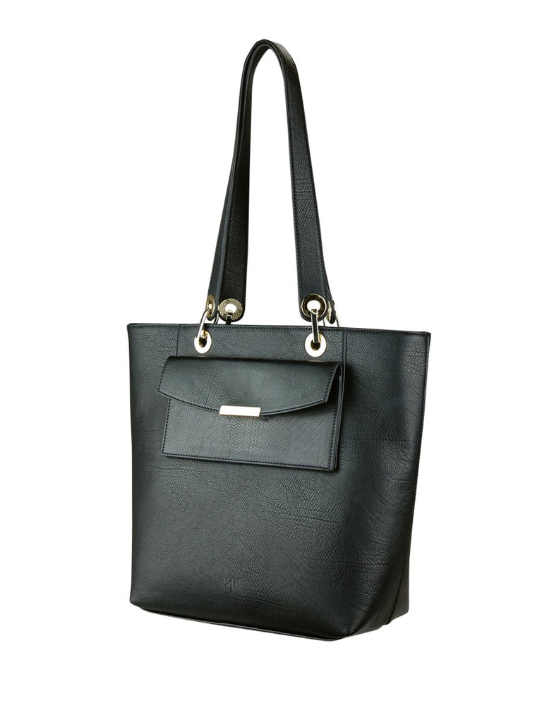 ESPE Yester Tote in Black-Womens Tote-ESPE-Unicorn Goods