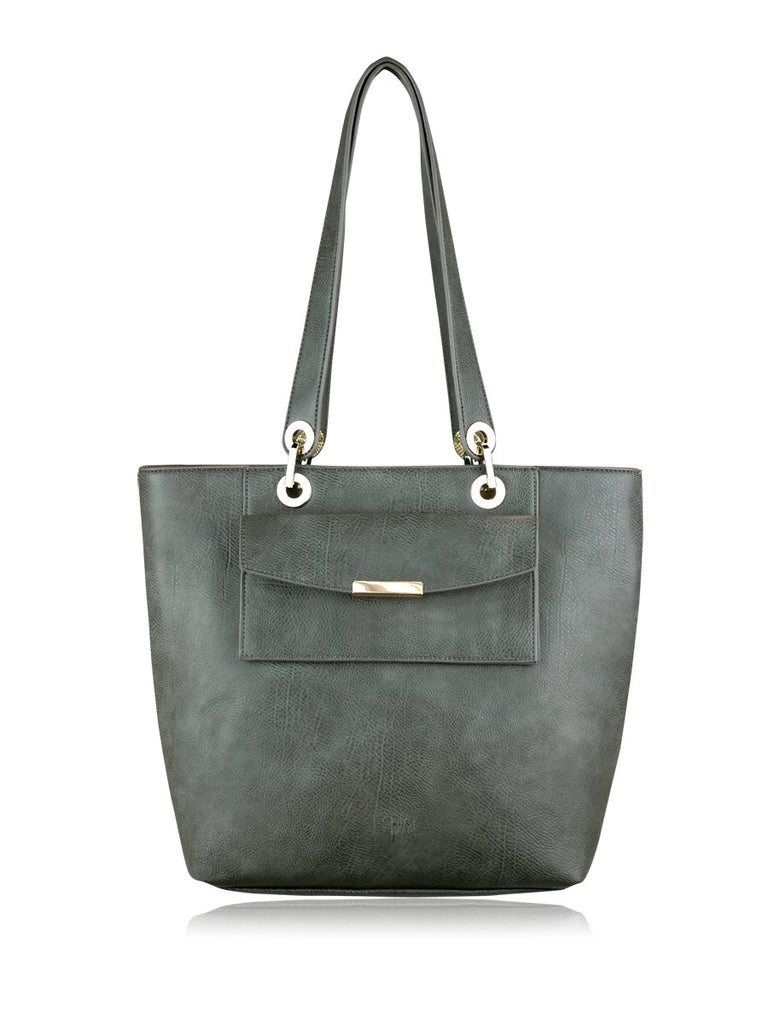 ESPE Yester Tote in Grey-Womens Tote-ESPE-Unicorn Goods