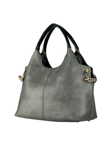 ESPE Yulia Purse in Grey-Womens Purse-ESPE-Unicorn Goods