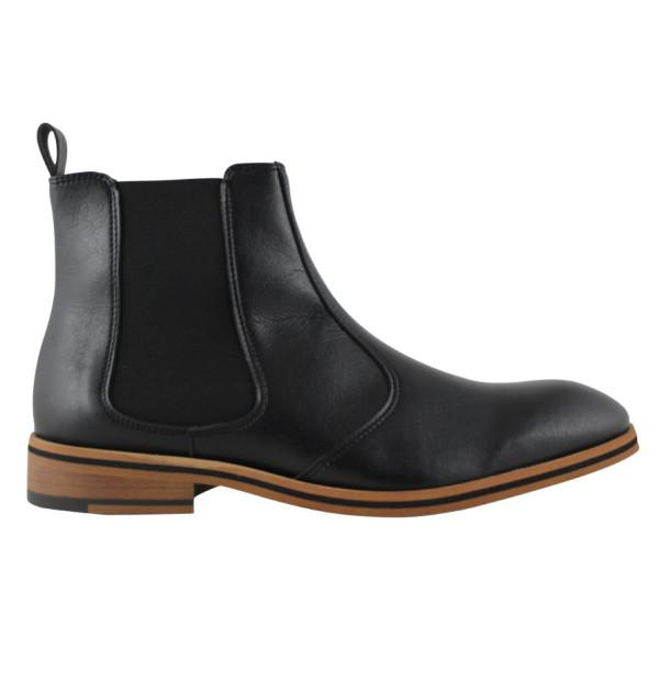 FAIR Chelsea Boots in Black-Mens Boots-FAIR-Unicorn Goods