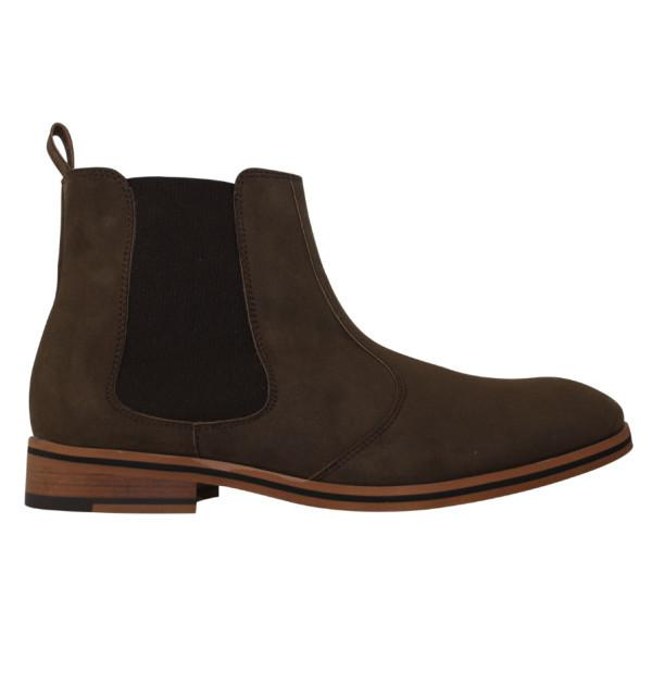 FAIR Chelsea Boots in Brown-Mens Boots-FAIR-Unicorn Goods