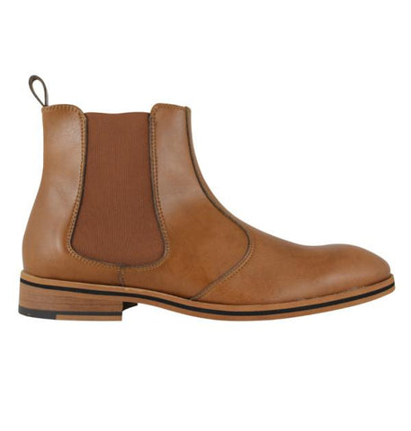 FAIR Chelsea Boots in Tan-Mens Boots-FAIR-Unicorn Goods