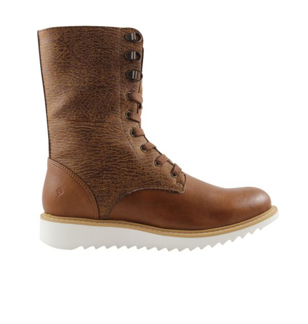 FAIR Comfy Lace-Up Boots in Brown-Womens Boots-FAIR-Unicorn Goods
