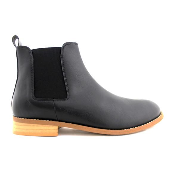 FAIR Everyday Chelsea Boots in Black-Mens Boots-FAIR-Unicorn Goods