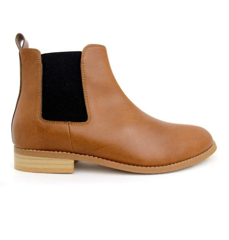 FAIR Everyday Chelsea Boots in Tan-Mens Boots-FAIR-Unicorn Goods