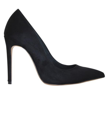 FAIR Pointed Pumps in Black-Womens Pumps-FAIR-Unicorn Goods
