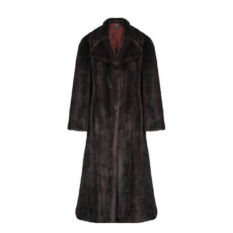 Faux Ardelle Full Length Luxury Coat-Womens Coat-Faux-Unicorn Goods