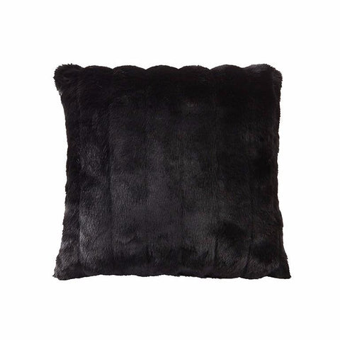 Faux Blenheim Black Mink Cushion-Bedding-Faux-Unicorn Goods