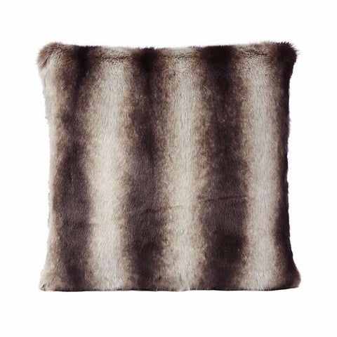 Faux Bourbon Chinchilla Fur Cushion-Bedding-Faux-Unicorn Goods