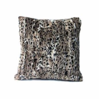 Faux Chantily Natural Cheetah Cushion-Bedding-Faux-Unicorn Goods