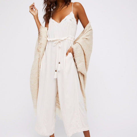 Free People Fonda Jumpsuit in Linen-Womens Jumpsuit-Free People-Unicorn Goods